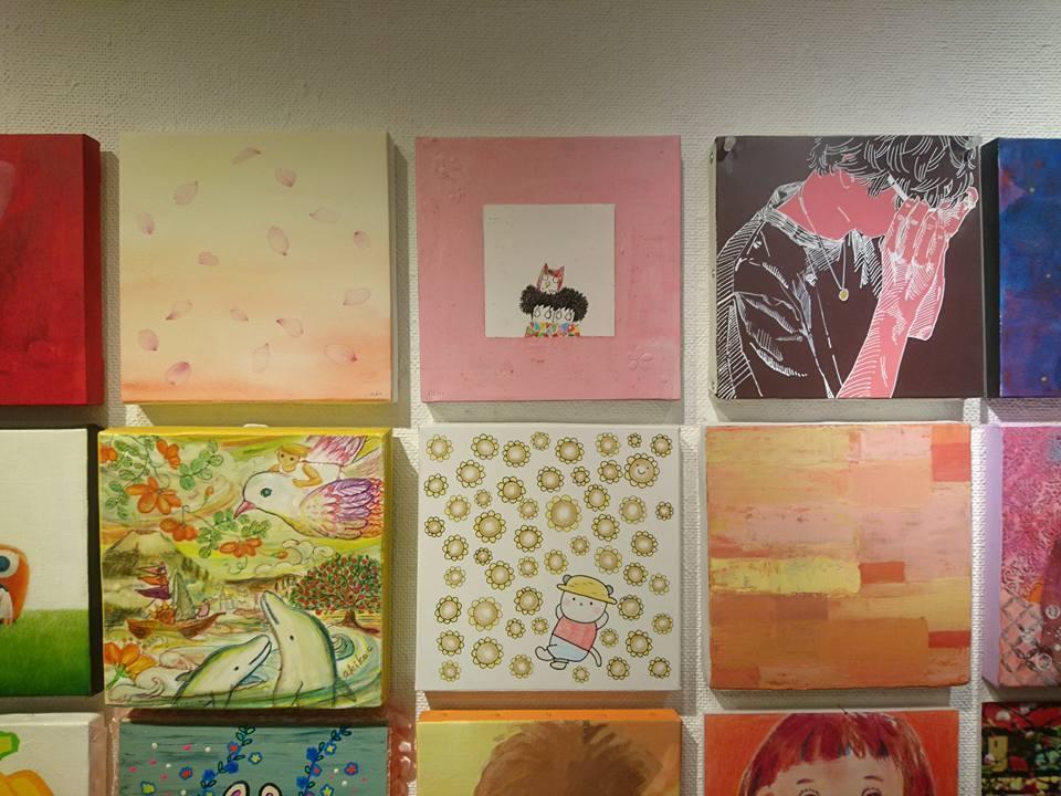 180401「18×18タイルアート展」終了しました。_c0282791_19355742.jpg