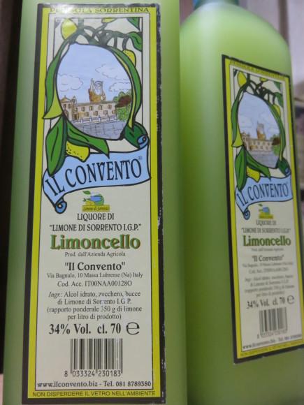 めっちゃ美味しいリモンチェッロ、再入荷しましてん ♬_d0212522_20493643.jpg