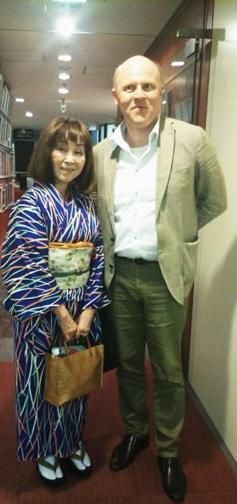 神戸から、東京へ(2)東京特派員記者クラブダミアン フラナガン講演「Yukio Mishima」_a0098174_21225485.jpg