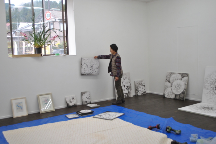 藤倉春日展 「花色の時」_c0267580_16114996.jpg