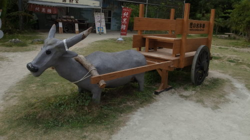 由布島観光 水牛車で海を渡る_c0011649_05215262.jpg