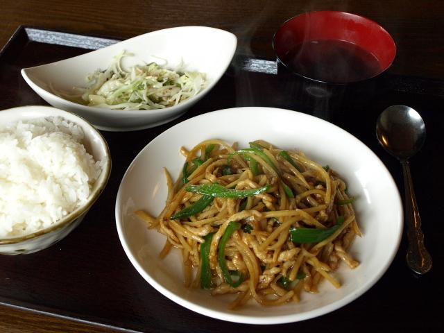 楽食中華 飛燕 その6 (ランチ チンジャオロースー)_d0153062_21043218.jpg