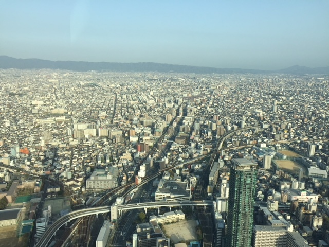 【日本ー】あべのハルカスへ行ってきた~!        大阪_e0184067_17310803.jpg