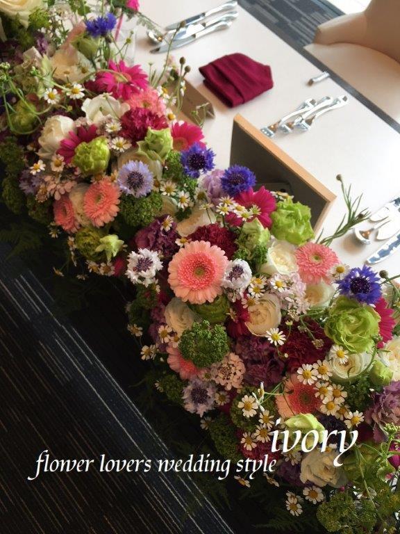 〜土曜日の婚礼から〜♬_b0094378_22483017.jpeg