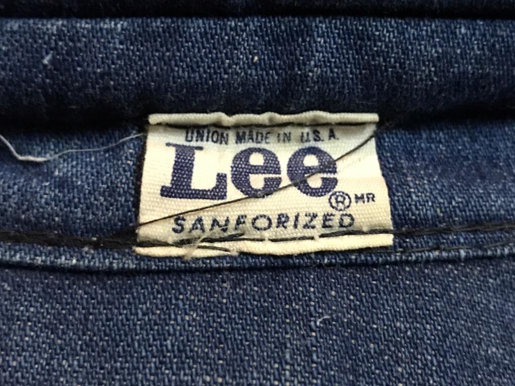 神戸店4/18(水)Vintage入荷! #3 Vintage Lee Item!!!_c0078587_15080617.jpg