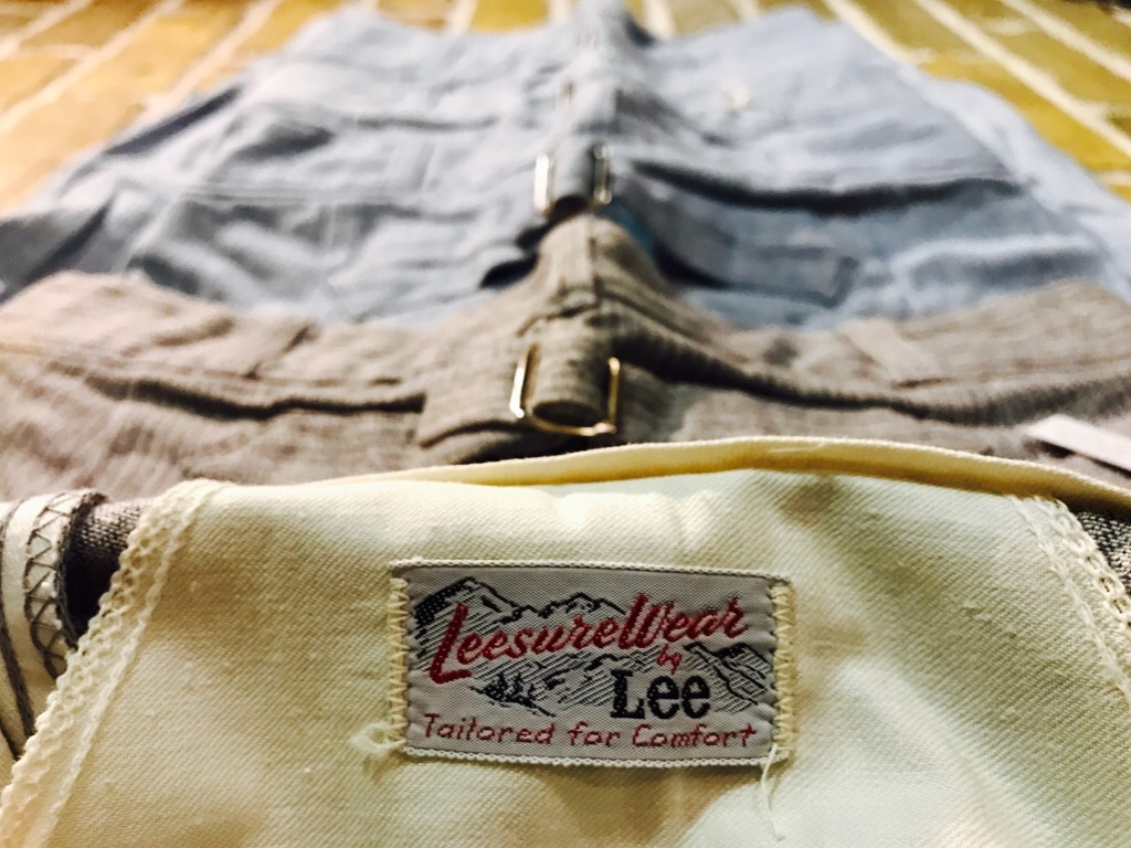神戸店4/18(水)Vintage入荷! #3 Vintage Lee Item!!!_c0078587_15110832.jpg