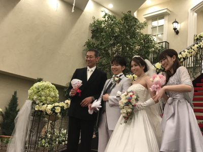 ❤️❤️小林夫妻の結婚式❤️❤️_b0259538_18520370.jpg