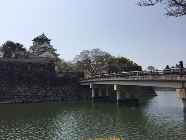 大阪城公園は桜満開!               大阪_e0184067_15223865.jpg