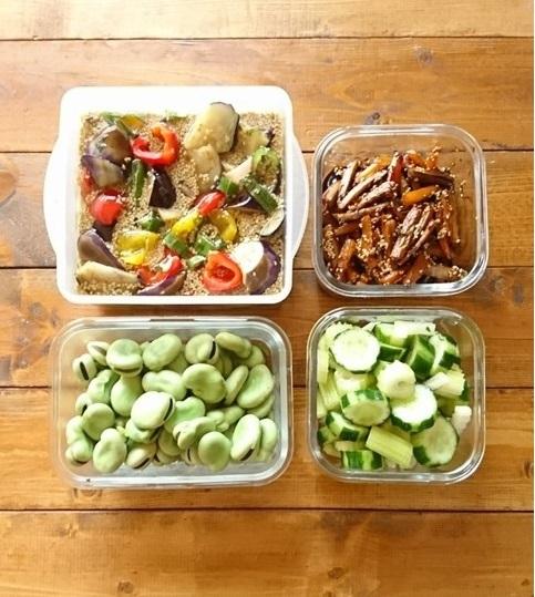 イエシゴトVol.255 ブランチと野菜で常備菜作り…でやらかしました。_e0274872_12535147.jpg