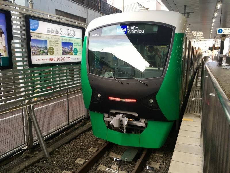 静岡鉄道A3000型の新色に乗車!_d0367998_21354258.jpg