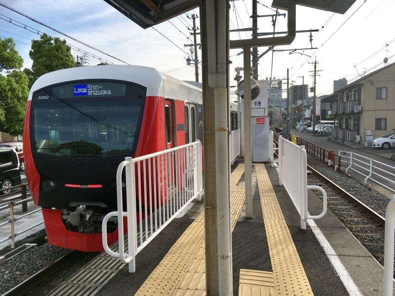 静岡鉄道A3000型の新色に乗車!_d0367998_21362168.jpg