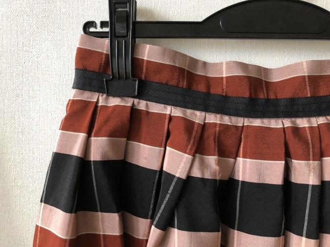 着物リメイク・お着物からタックスカート_d0127925_11154639.jpg