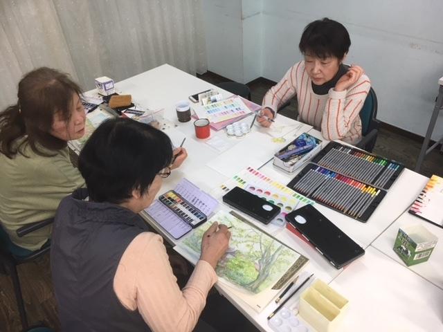 歌声サロン&水彩画教室_c0113948_15592327.jpg