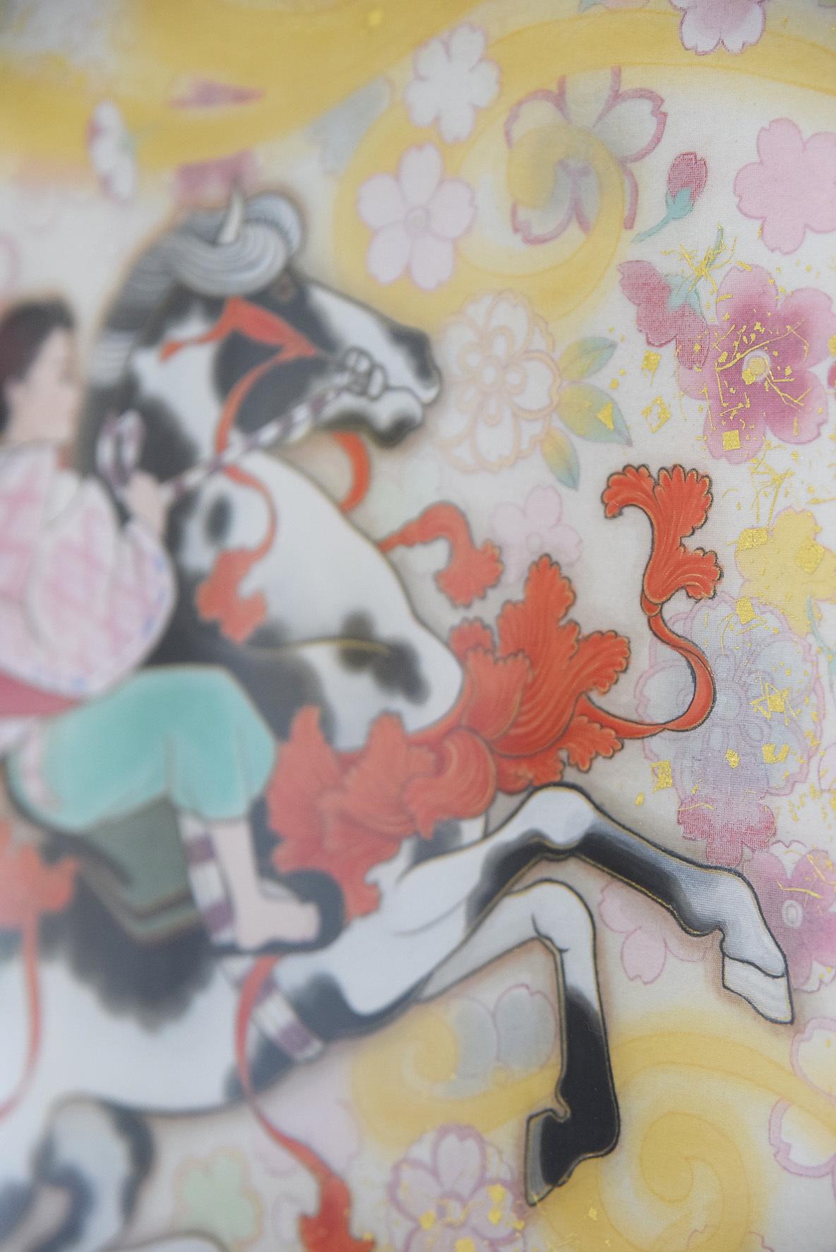 中沢 梓 大和絵展 「刻一刻」@1日目_e0272050_16073679.jpg