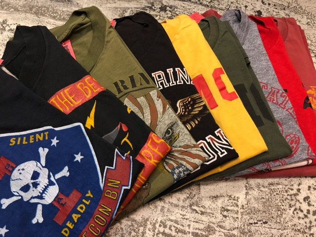 4月21日(土)大阪店スーペリア入荷!! #2 Military T-Shirt!MarineCorps,Navy,AirForce!!_c0078587_20263323.jpg