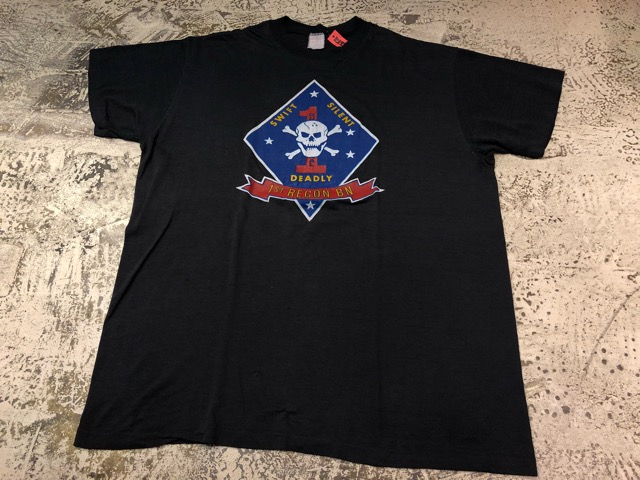 4月21日(土)大阪店スーペリア入荷!! #2 Military T-Shirt!MarineCorps,Navy,AirForce!!_c0078587_20265092.jpg