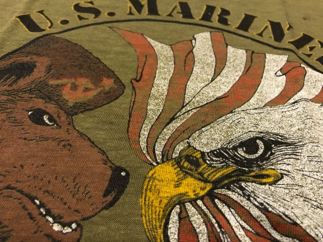 4月21日(土)大阪店スーペリア入荷!! #2 Military T-Shirt!MarineCorps,Navy,AirForce!!_c0078587_2119548.jpg