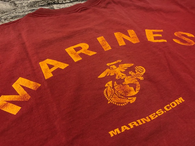4月21日(土)大阪店スーペリア入荷!! #2 Military T-Shirt!MarineCorps,Navy,AirForce!!_c0078587_21215371.jpg