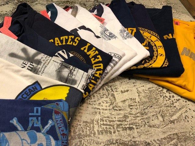 4月21日(土)大阪店スーペリア入荷!! #2 Military T-Shirt!MarineCorps,Navy,AirForce!!_c0078587_2122478.jpg
