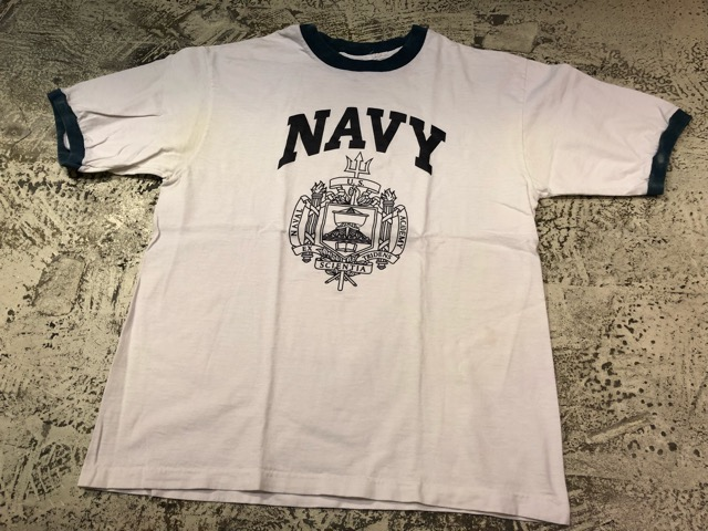 4月21日(土)大阪店スーペリア入荷!! #2 Military T-Shirt!MarineCorps,Navy,AirForce!!_c0078587_21252477.jpg