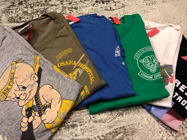 4月21日(土)大阪店スーペリア入荷!! #2 Military T-Shirt!MarineCorps,Navy,AirForce!!_c0078587_21294223.jpg