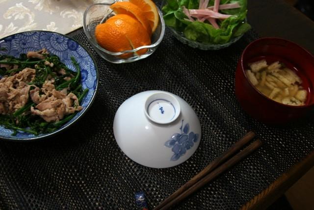 畑の野菜で夕飯4日分~♪_f0229190_13293423.jpg