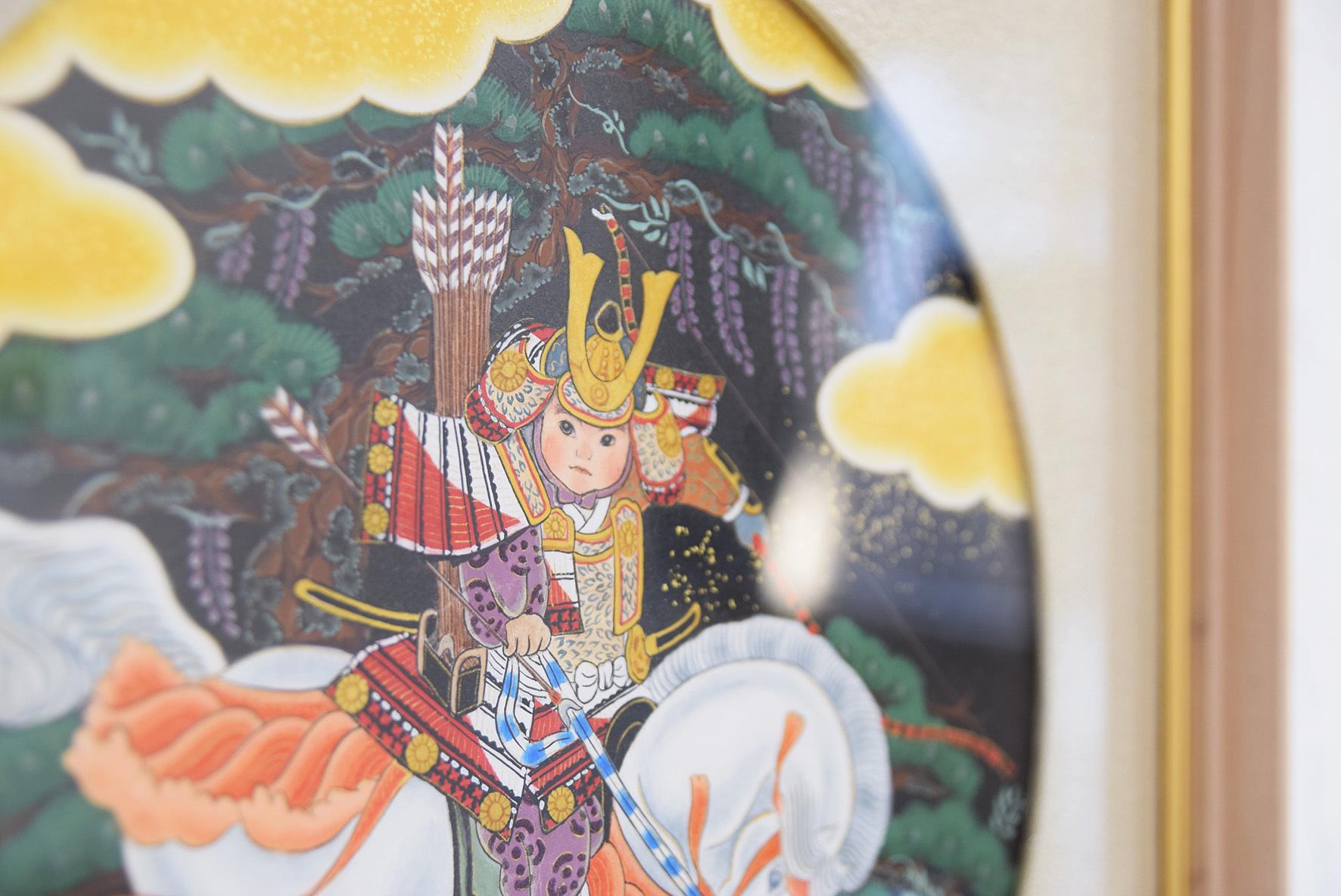 中沢 梓 大和絵展 「刻一刻」@2日目_e0272050_17071857.jpg