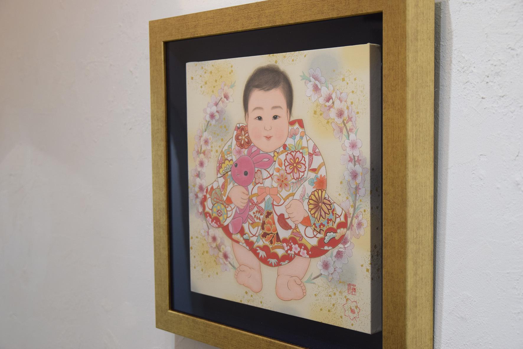 中沢 梓 大和絵展 「刻一刻」@2日目_e0272050_17072006.jpg