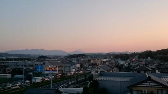 4/19 昨日の富士山_b0042308_10342284.jpg
