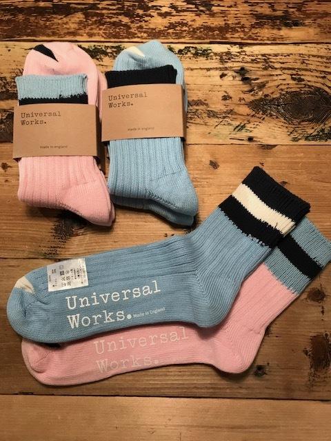 Universal Works×novesta sneakers & Socks_a0222424_19334992.jpg