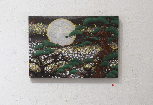 中沢 梓 大和絵展 「刻一刻」@3日目_e0272050_16412603.jpg