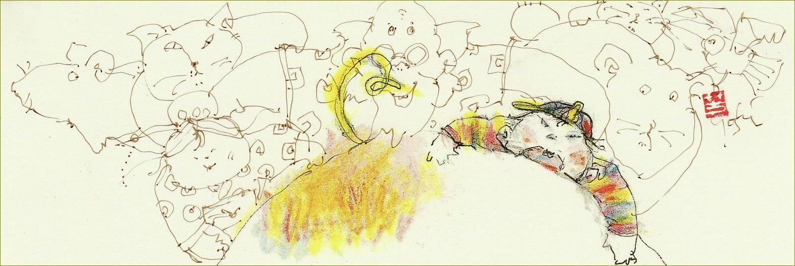 《 豚の尻尾に世界をさけぶ! 》_f0159856_18490231.jpg