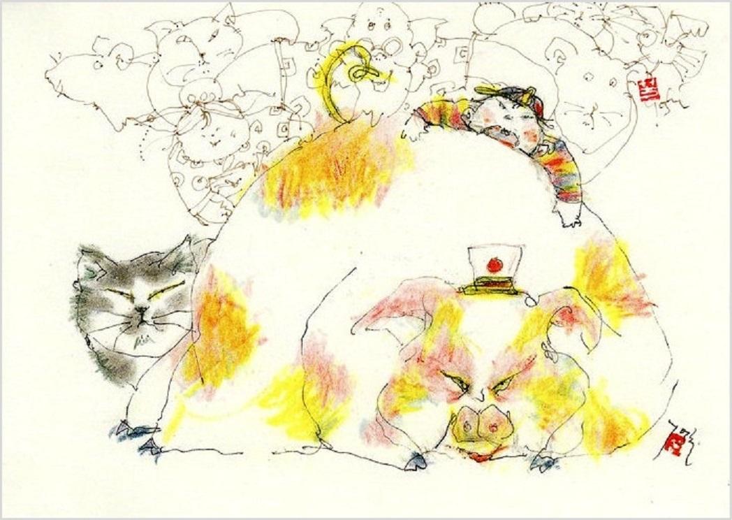 《 豚の尻尾に世界をさけぶ! 》_f0159856_18504053.jpg