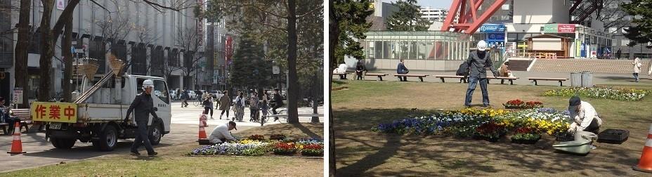 札幌の春のお化粧です。_f0362073_10472265.jpg