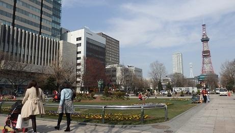札幌の春のお化粧です。_f0362073_10482064.jpg