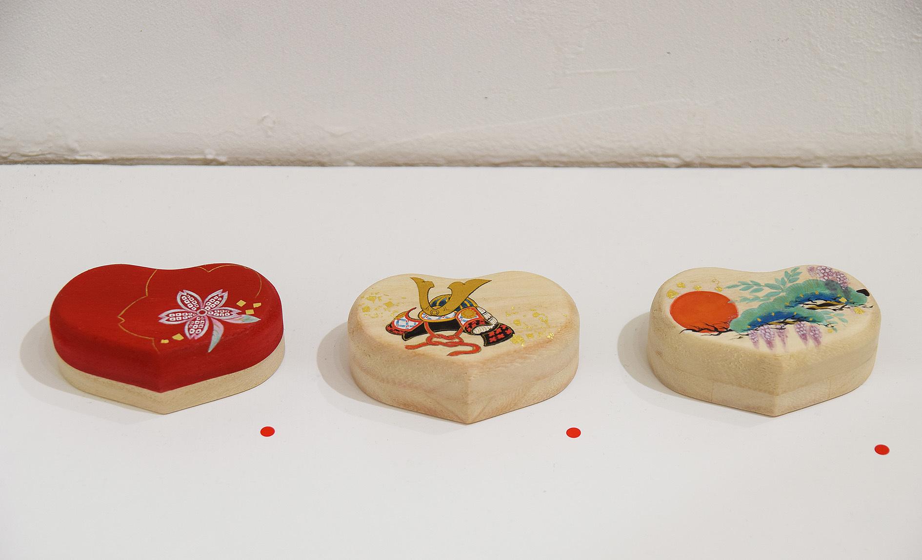 中沢 梓 大和絵展 「刻一刻」@4日目_e0272050_15595293.jpg