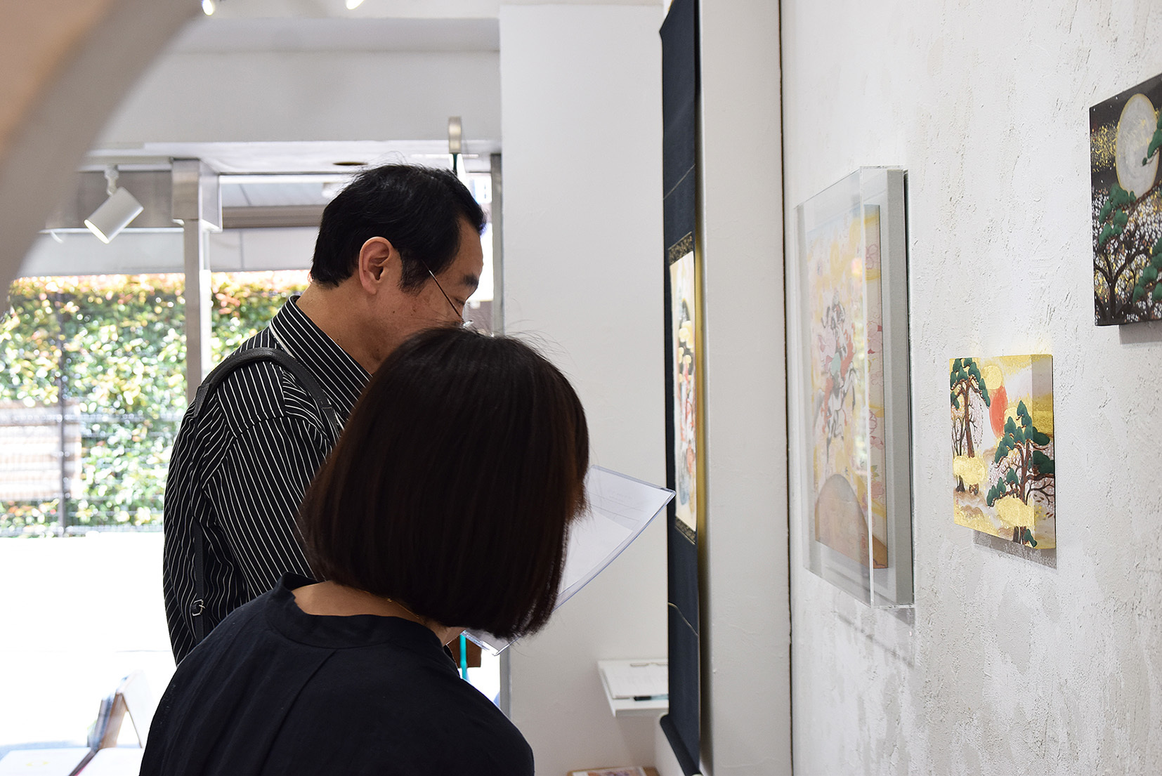 中沢 梓 大和絵展 「刻一刻」@4日目_e0272050_15595609.jpg