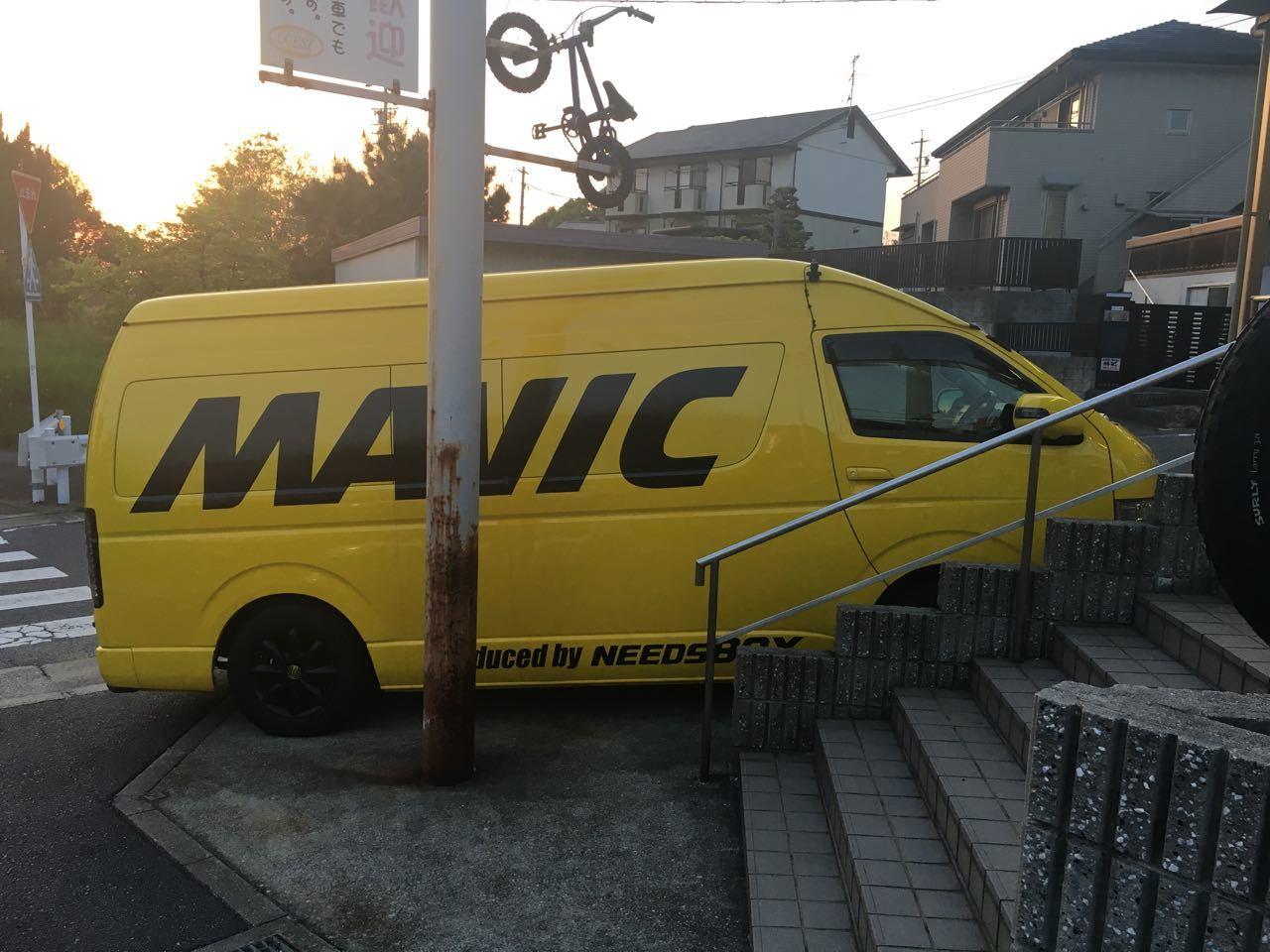 2018.04.20「明日から MAVICホイール試乗会です!!」_c0197974_04010846.jpg