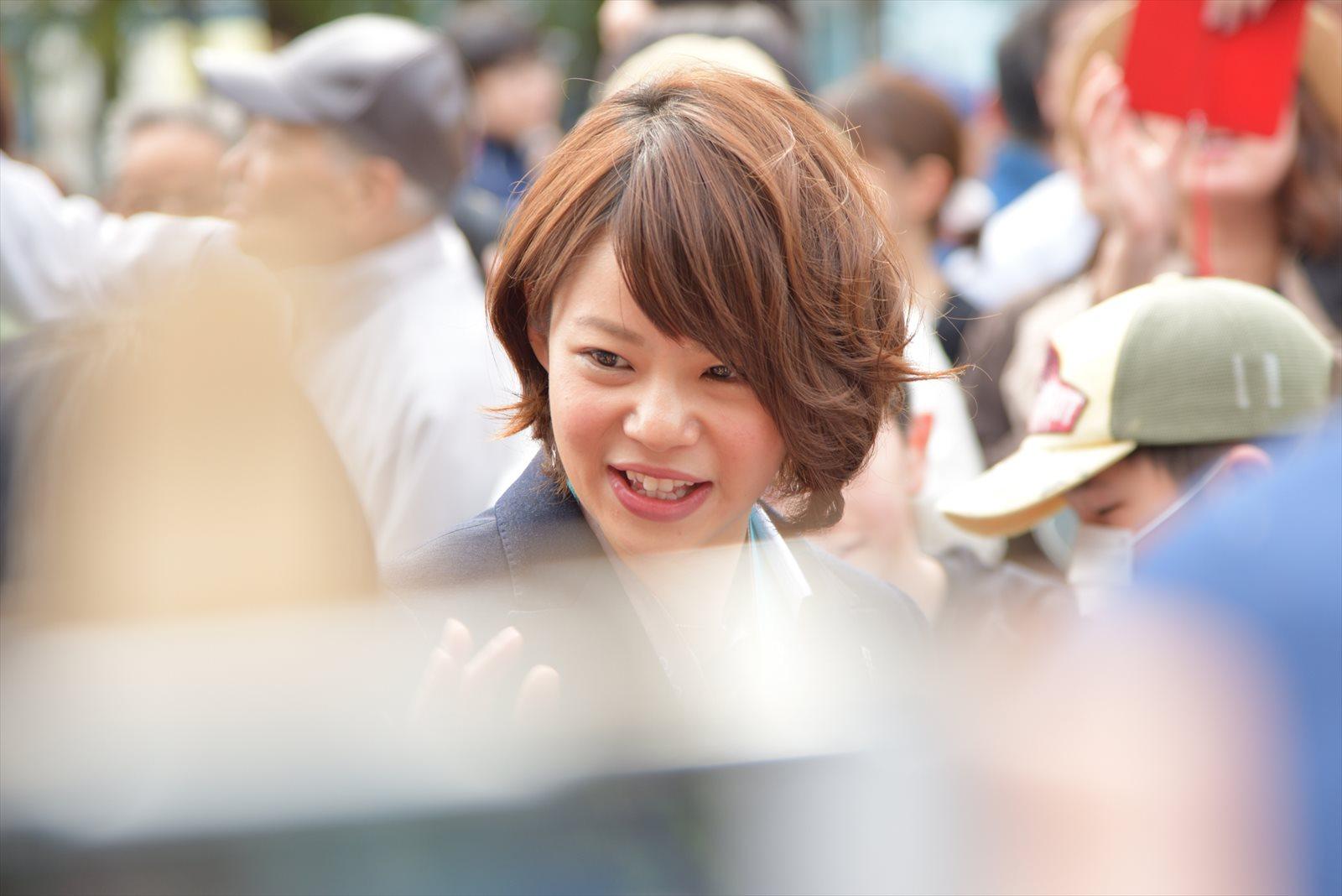 【幕別町】高木姉妹のパレードを見てきました。_a0145819_2154730.jpg