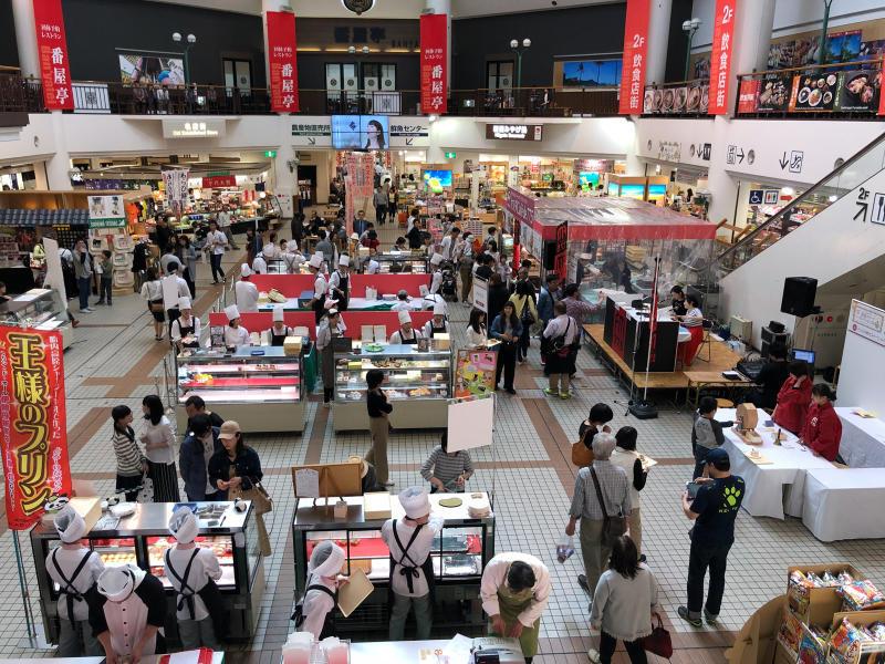 鮭いくら丼    道の駅 新潟ふるさと村_a0359239_20215780.jpg