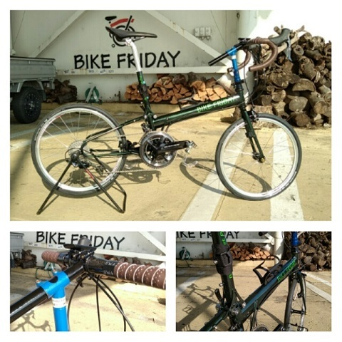 納車  BIKE FRIDAY_d0147944_18355484.jpg
