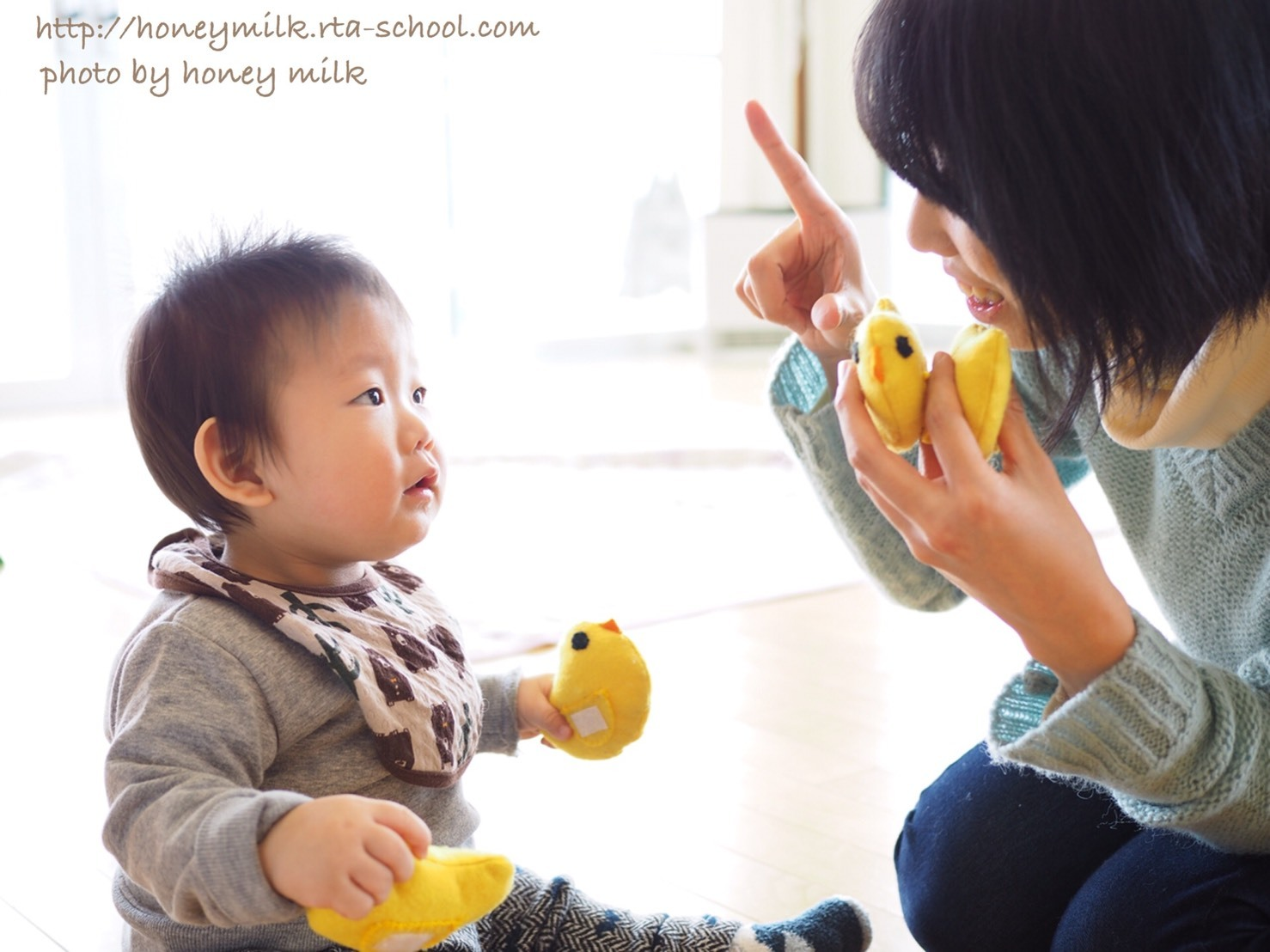 赤ちゃんとママのファーストサイン♪_e0120789_13342851.jpg