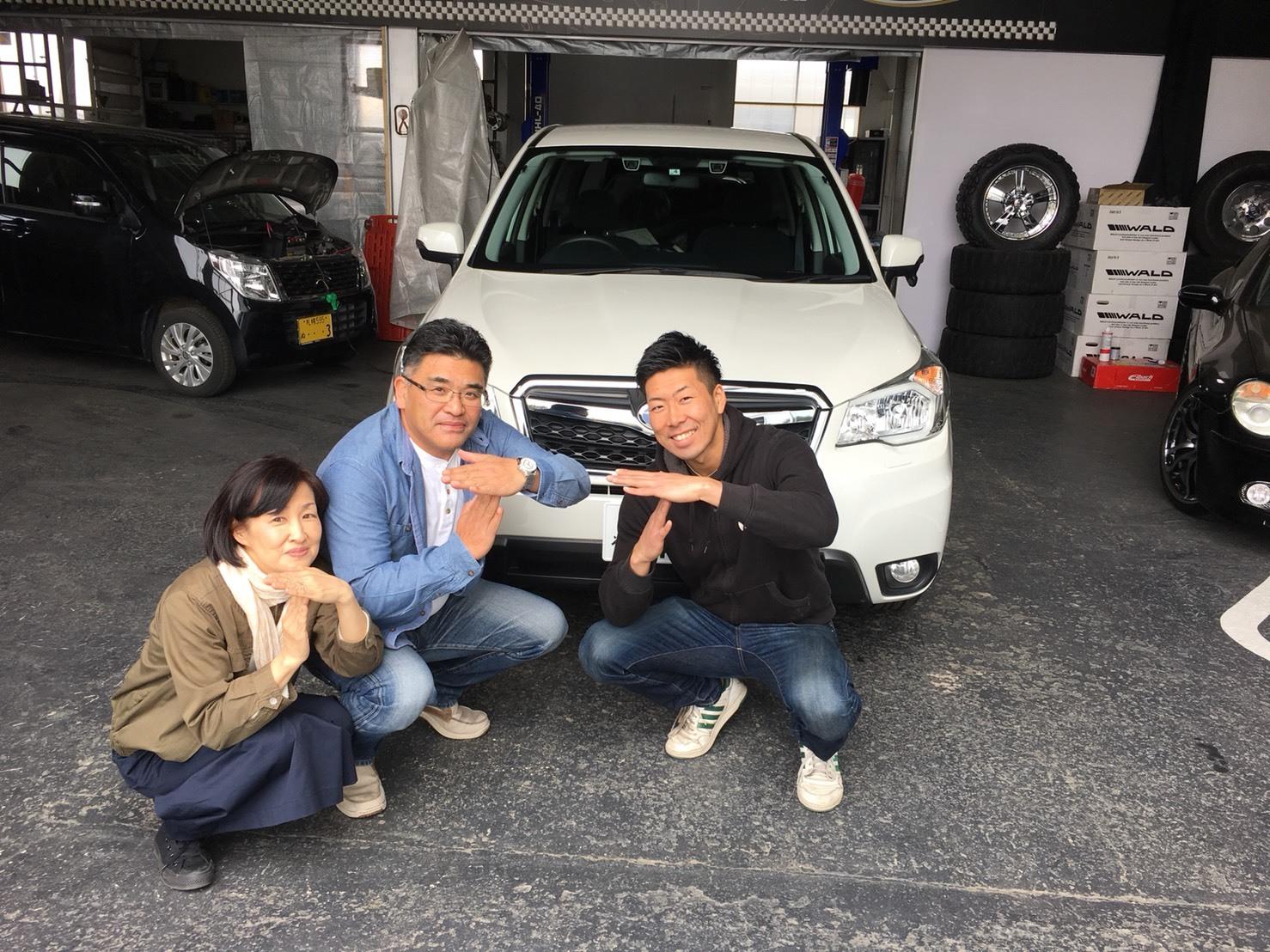 4月23日(月)トミーベース カスタムブログ☆S様キャンバス O様フォレスタ納車☆_b0127002_12031292.jpg
