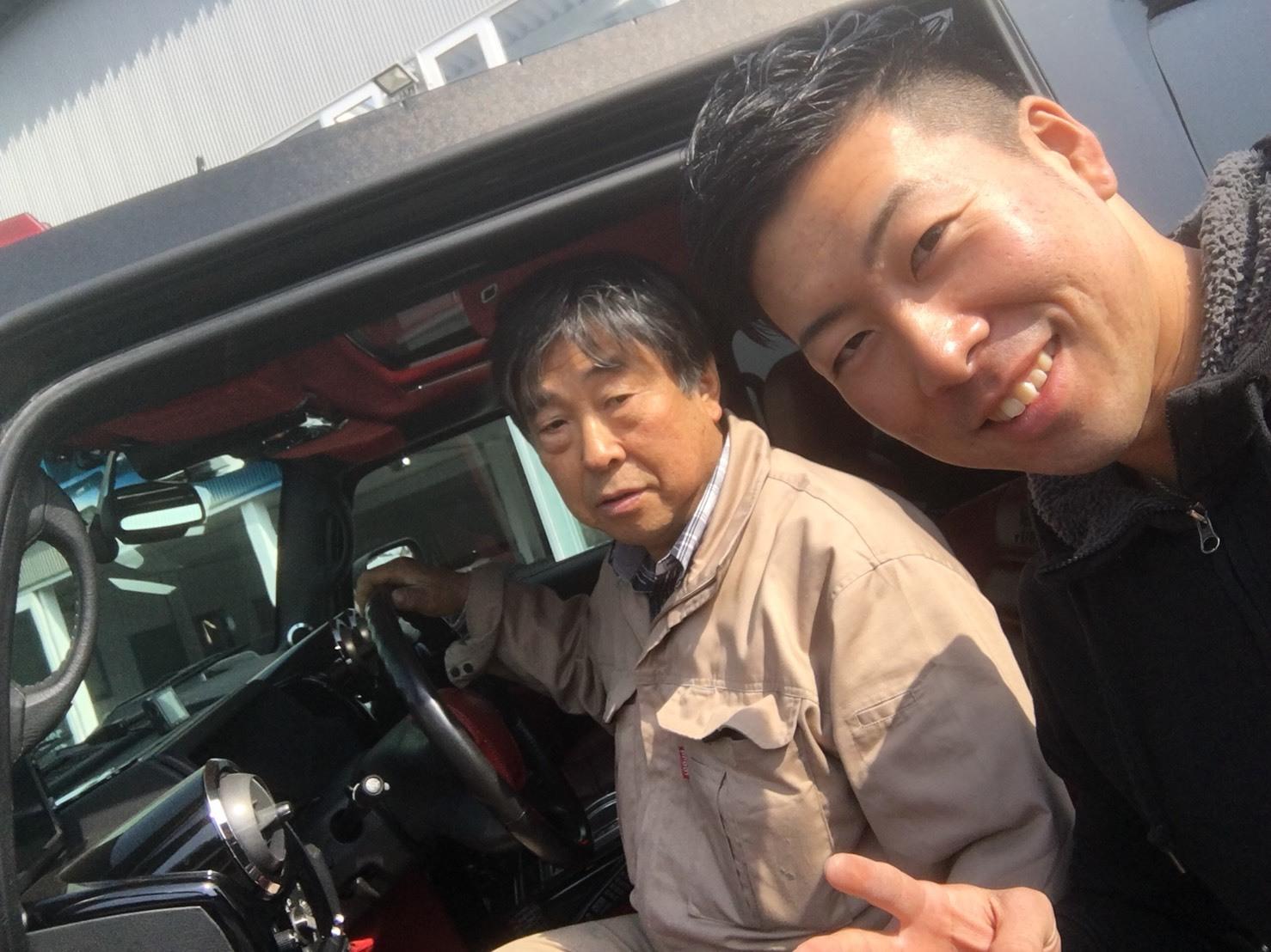 4月23日(月)トミーベース カスタムブログ☆S様キャンバス O様フォレスタ納車☆_b0127002_12320924.jpg
