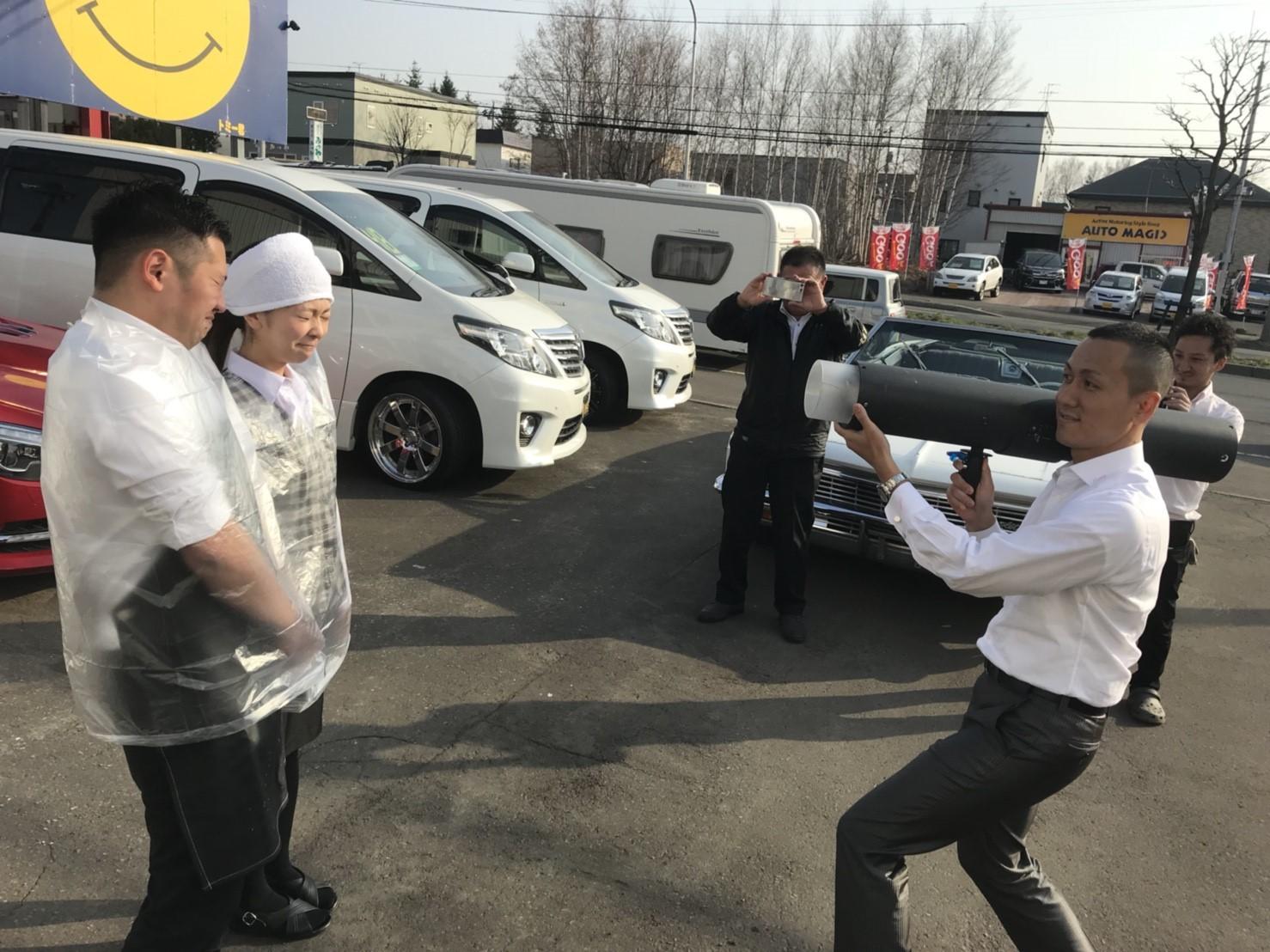 4月23日(月)トミーベース カスタムブログ☆S様キャンバス O様フォレスタ納車☆_b0127002_13035386.jpg