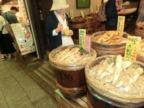京都錦市場 と、富士山(あたまだけ)_a0203003_14510290.jpg