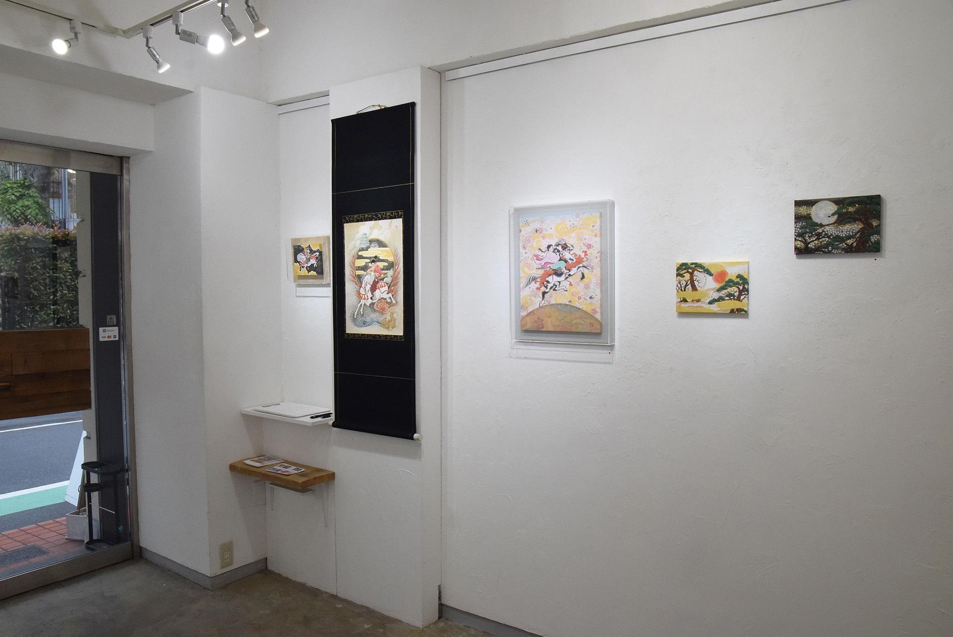 中沢 梓 大和絵展 「刻一刻」@最終日_e0272050_15502531.jpg