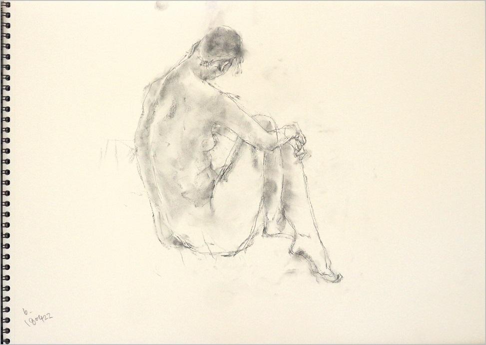《 「四月卯月裸婦素描」》_f0159856_16323873.jpg
