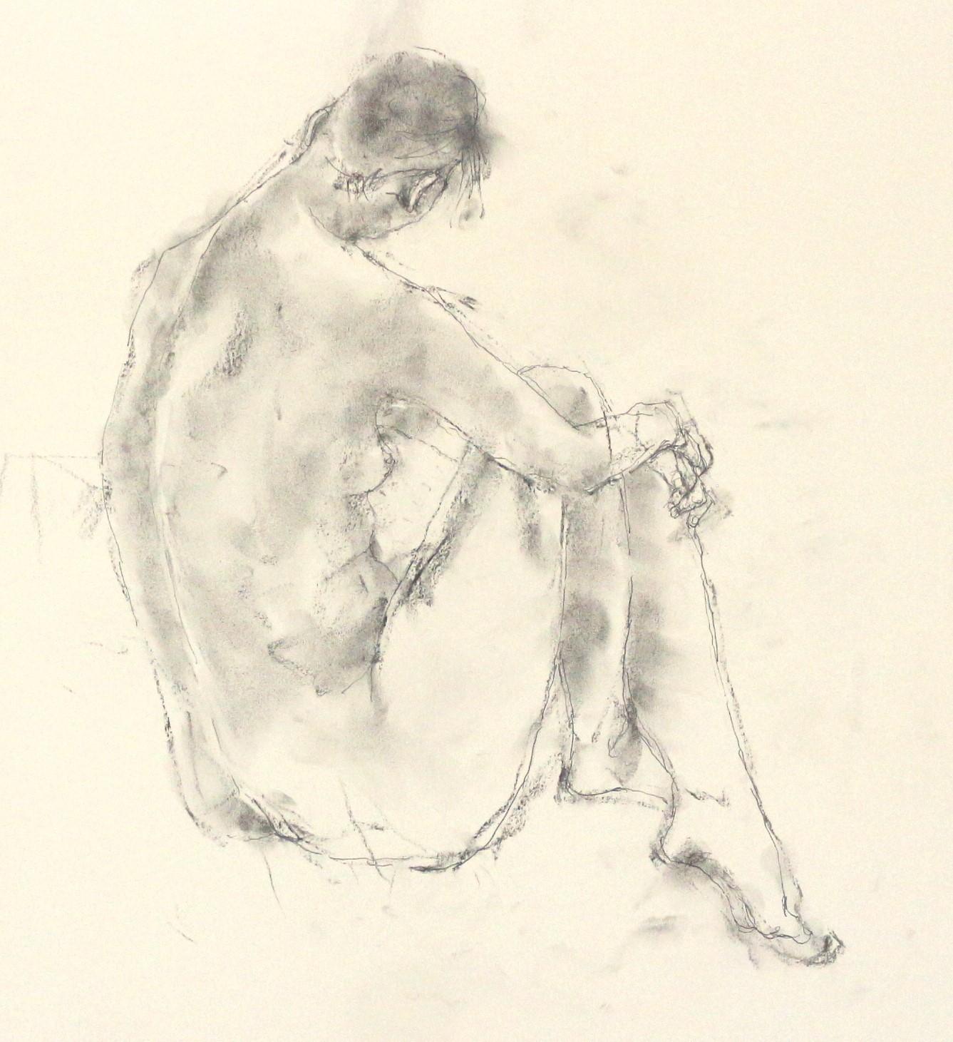 《 「四月卯月裸婦素描」》_f0159856_16325099.jpg