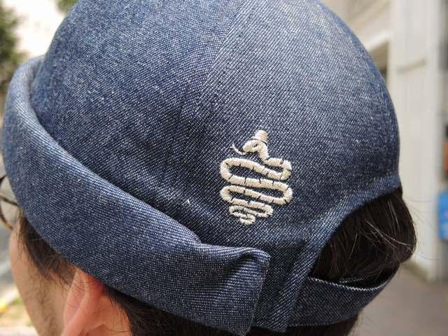 Denim Roll Cap 再入荷☆_b0316864_19074093.jpg
